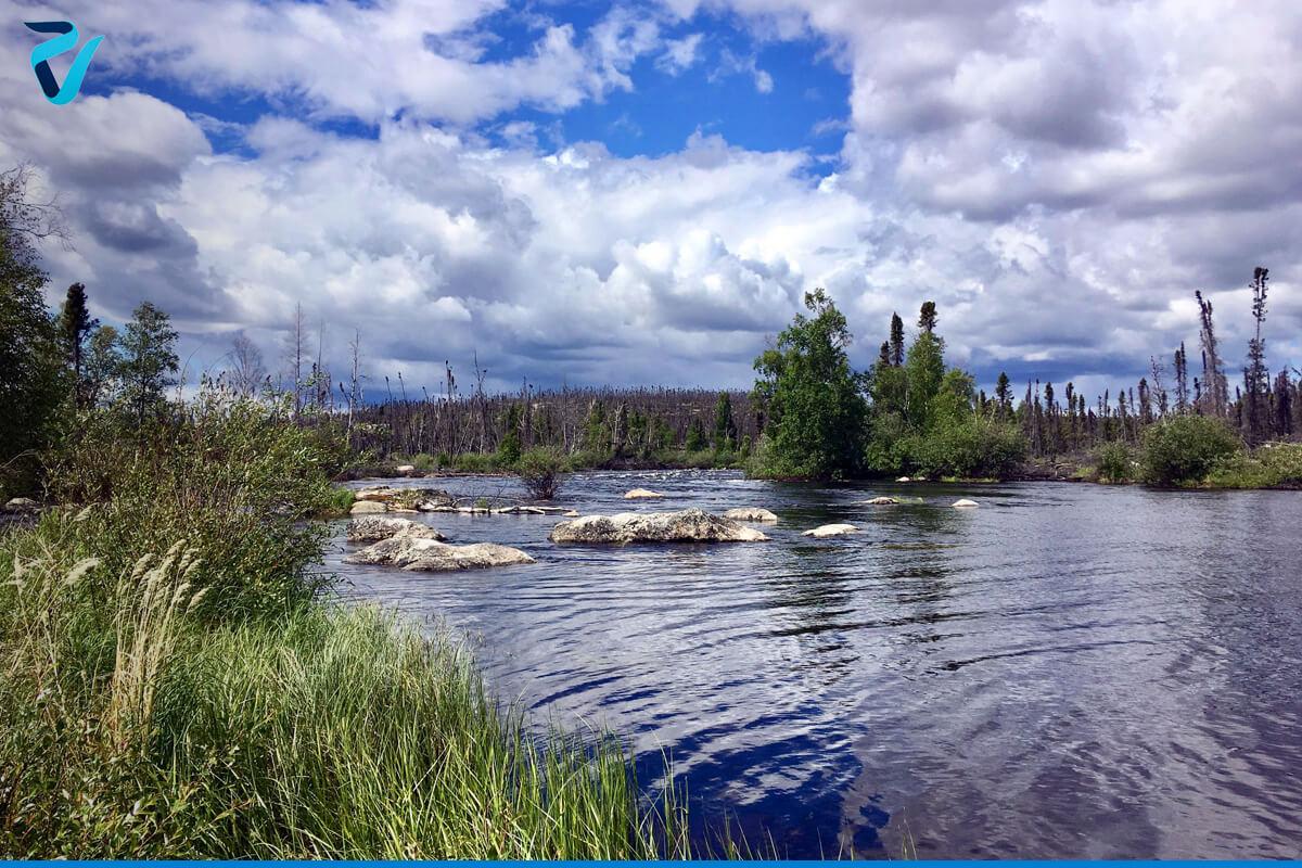 تصویر رودخانه میلتون